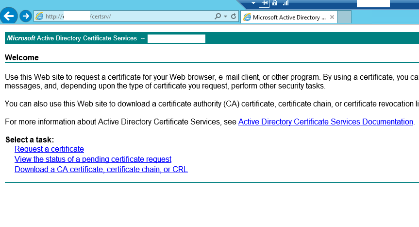 Certificates for vmware horizon view 6 with certreq click on request a certificate yadclub Gallery