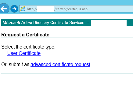 Certificates for vmware horizon view 6 with certreq click on advanced certificate request yelopaper Image collections